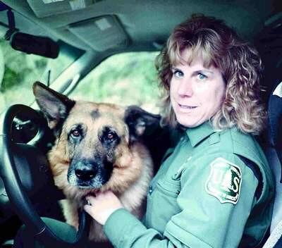 Canine officer kayla